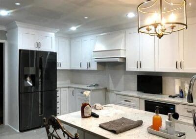 Starnes Electric LLC Electricians, recessed and bar lighting in kitchen
